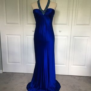 Cache slinky bejeweled Evening Gown - worn once